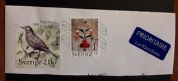 Sweden 2019 Bird Europa And 2015 2 Stamps Used - Gebruikt