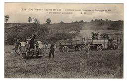 MILITARIA - Artillerie Lourde Française, Une Pièce De 155 Et Son Tracteur Automobile - Matériel