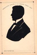 SILHOUETTE D' HOMME - COUPÉE À LA MINUTE Par FERDI JEAN - ROUMANIE / ROMANIA - ANNÉE / YEAR ~ 1905 - RRR !!! (ae337) - Silhouettes