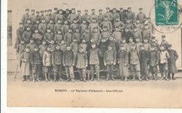26 // ROMANS   75 Eme Régiment D'infanterie   Sous Officiers - Romans Sur Isere