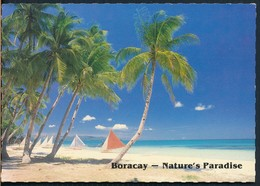 °°° 20520 - PHILIPPINES - BORACAY - NATURE'S PARADISE - 1990 With Stamps °°° - Filippine