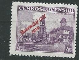 Slovaquie     -  Yvert  N° 19 (*)   -  Ay 269 15 - Unused Stamps
