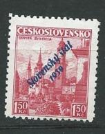 Slovaquie   Yvert N° 13 (*)    -  Aab 26917 - Slovakia