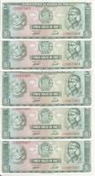 PEROU 5 SOLES DE ORO 1971 UNC P 99 B ( 5 Billets ) - Pérou