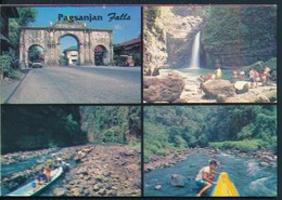 °°° 20521 - PHILIPPINES - PAGSANJAN FALLS - 1997 With Stamps °°° - Filippine