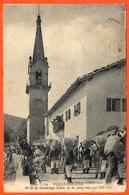 En L'état CPA Tarjeta Postal FUENTERRABIA Pais Vasco - Na Sa De Guadalupe Salida De Los Peregrinos ** Spain Espana - Spanien