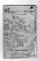 LIVRET MILITAIRE Dragon KULLER Du 3e Règiment De Dragons 3e Escadron . De 1841 - Documents Historiques
