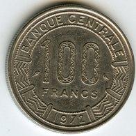 Cameroun Cameroon 100 Francs 1972 KM 16 - Cameroun