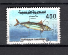 TUNISIE  N° 1165    OBLITERE COTE  0.70€     POISSON ANIMAUX - Tunisie (1956-...)