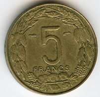 Cameroun Cameroon Equatorial 5 Francs 1958 KM 10 - Kamerun