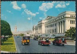 °°° 20522 - PHILIPPINES - MANILA - THE LEGISLATIVE BUILDING - 1984 With Stamps °°° - Filippine