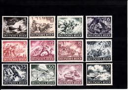 ALLEMAGNE  III° REICH   JOURNEE DES HEROS  N° 748 A 759    NEUFS XX - Unused Stamps