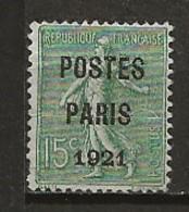 FRANCE:, (*), PREOBLITERES N° YT 28, AB - Vorausentwertungen