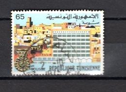 TUNISIE  N° 808    OBLITERE COTE  0.45€     VILLE - Tunisie (1956-...)