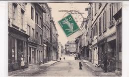 27 / CORMEILLES / LA RUE DE LISIEUX / CHIEN QUI FAIT LE BEAU - Frankreich