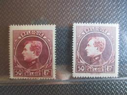 Nr 291B/C* -cote € 55 - 1929-1941 Grand Montenez