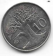 Zimbabwa 10 Cents 1980  Km 3   Bu - Zimbabwe