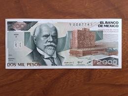 MEXIQUE - 2000 Pesos - Pick 82b - Quatrième Édition, Type 1 - Série Z - Daté Du 7 Ago 1984 - UNC - Mexique