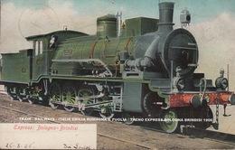 TRAIN - RAILWAYS - ITALIE EMILIA ROMAGNA & PUGLIA / TRENO EXPRESS BOLOGNA BRINDISI 1906 - Bologna