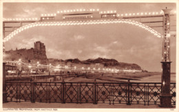 R329309 Illuminated Promenade From Hastings Pier. Norman. S. And E - Cartoline