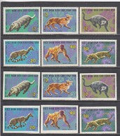 Vietnam Nord 1967 - Wild Animals, Mi-Nr. 475/80, Perf.+imperf., MNH** - Vietnam