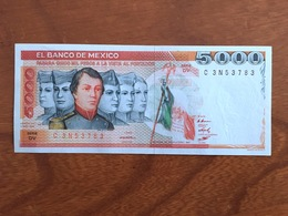 MEXIQUE - 5000 Pesos - Pick 83a - Quatrième Édition, Type 3 - Série DV - Daté Du 13 May 1983 - UNC - Mexique