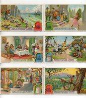FIGURINE LIEBIG - 1928 - Le Penne D'Uccello - Serie Completa Nr. 1215 (Sanguinetti) - Lingua Italiana - (FDC20918) - Liebig