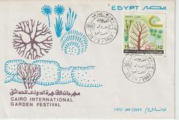 Egypte FDC 1987 Festival Du Jardin Au Caire PA 179 - Égypte