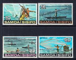 1976 Samoa Fishing  Complete Set Of 4 MNH - Samoa