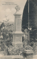 A R 350 /  C  P A     -   PIENCOURT     ( 27)  MONUMENT AUX MORTS DE LA GUERRE - France