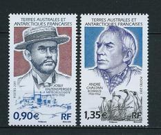 TAAF 2011 . N°s 584 Et 585 . Neufs ** (MNH) . - Terres Australes Et Antarctiques Françaises (TAAF)