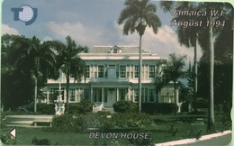 JAMAÏQUE  -  Phonecard  -  Devon House  -  J $ 20 - Jamaica
