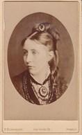 HASSELT Vrouw Photo CDV Avant 1878 Par H BLANCKART - Ancianas (antes De 1900)