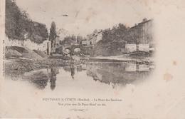 85 FONTENAY-LE-COMTE LE PONT DES SARDINES VUE PRISE SOUS LE PONT NEUF EN ETE - Fontenay Le Comte