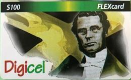 JAMAÏQUE  -  Prepaid  -  Digicel  - FLEXcard  -  $ 100 - Jamaica