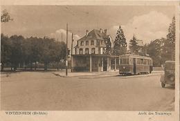 WINTZENHEIN Arret Des Tramways - Wintzenheim