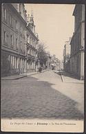 Frankreich FECAMP Le Pays De Caux La Rue De LÌnondation Straßenansicht Von 1907 - Fécamp