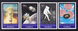 1999 Samoa Space Moon Landing JOINT ISSUE Complete Set Of 4 MNH - Samoa