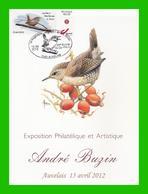 BUZIN - Troglodyte Mignon - Souvenir A5 Ce-Phil-A (Auvelais) 15-04-2012 - 1985-.. Birds (Buzin)