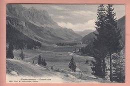 OLD POSTCARD SWITZERLAND - SCHWEIZ - URNERBODEN - KLAUSENSTRASSE - UR Uri