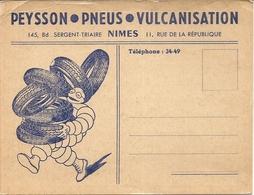 PUB PNEU MICHELIN .PEYSSON PNEUS - Nîmes