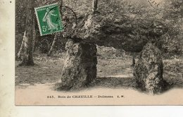 Cpa.. Bois De Chaville  Dolmen... - Dolmen & Menhire