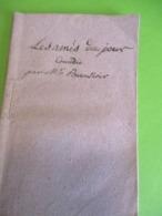 """Fascicule Théâtre/ """" Les Amis Du Jour""""/ M De BEAUNOIR/ Comédie En Un Acte Et En Prose/1786  FAT13 - 1701-1800"""