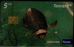 SWITZERLAND 2009 PHONECARD TURTLES USED VF!! - Tartarughe