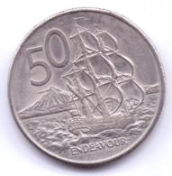 NEW ZEALAND 1980: 50 Cents, KM 37.1 - Nuova Zelanda