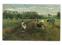 Peinture De MAX LIEBERMANN La Récolte De Pommes De Terre 1875 - Cultures