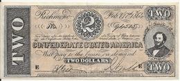 USA 2 DOLLARS 1864  Reproduction - Etats-Unis