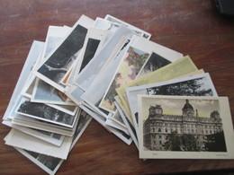 Ansichtskarten Böhmen Und Mähren 1942 / 43 Viele Verschiedene Stempel Und Karten! 36 Stück! Auch Ein Mitläufer Aus 1939 - Collections (without Album)