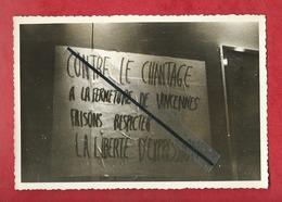 Photo - Université De Vincennes-1/7/69 -le Chantage La Fermeture De Vincennes Faisons Respecter La Liberté D'expression - Vincennes