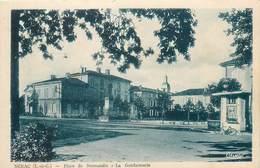 NERAC-place De Normandie-la Gendarmerie - Nerac